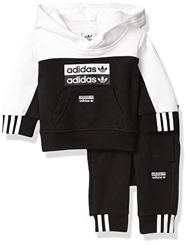 adidas Originals - Sudadera con capucha para niño -  Negro -  Large