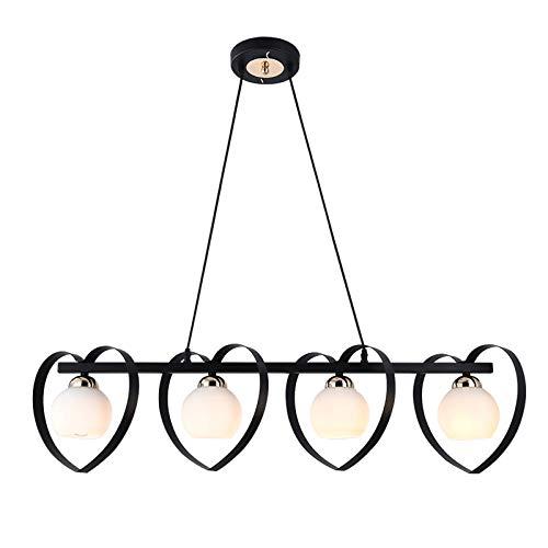 Negro E27 Lámpara colgante vintage Lámpara de mesa de comedor retro luz colgante de comedor Altura ajustable Dormitorio Sala de estar Araña Sala de estudio Hotel Café Loft Lámpara de techo,85cm