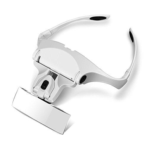 joyería clip de lupa para electricistas gafas costura Gafas