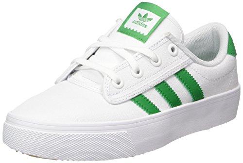 adidas Unisex-Erwachsene Kiel Fitnessschuhe, Weiß Verde/Ftwbla 000, 40 EU