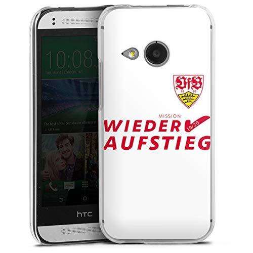 DeinDesign Hard Case kompatibel mit HTC One Mini 2 Schutzhülle transparent Smartphone Backcover VfB Stuttgart Bundesliga Aufstieg