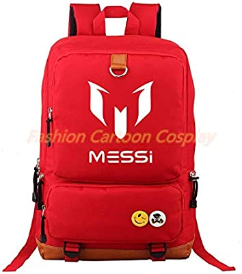 Logo Messi Backpacks Teenagers School Bags Backpack Women Laptop Bag Men Barcelona Travel Mochila Bolsas Escolar