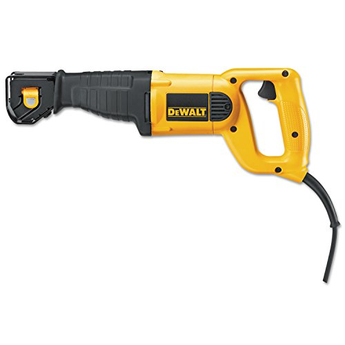 DeWalt Reciprocating Saws, 10 A, 2,800 strokes/min, 1 1/8 in Stroke