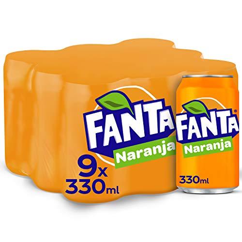Fanta Naranja - Refresco con 8% de zumo de naranja,