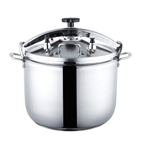 Autocuiseur en acier inoxydable 304 épaissi pression commerciale à double antidéflagrants fond de cuisson induction ménage gaz hôtel cuisinière 15L universel, 18L, 22L, 33L, 40L, 50L