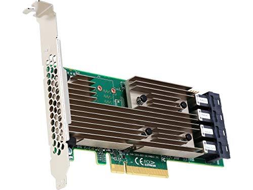 LSI Logic Controller Card 05-25703-00 9305-16i 16-Port SAS 12Gb/s PCI-Express 3.0 Host Bus Adapter Single Pack