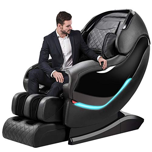 Massage Chair by OOTORI,3D SL-Track Thai Yoga Stretching Zero Gravity Massage Chair,Full Body Shiatsu Massage Chairs Recliner with Tapping, Heating...