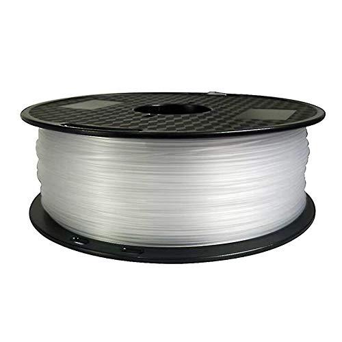 ABS Transparentes Filament 1,75 mm, 3D-Druckerfilament 1 kg, mehrere Farben-Transparent
