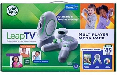 LeapFrog LeapTV Educational, Active Video Gaming - Bundle with Extra...