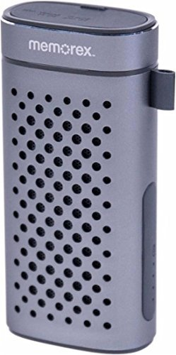 Memorex FlexBeats MWB3363 Portable Bluetooth Speaker - Gunmetal Gray (Refurbished)