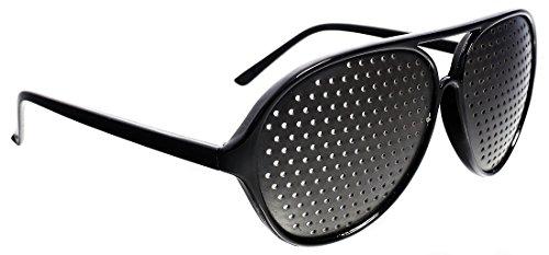Oramics - Rasterbrille / Partybrille / Augentrainer in Schwarz Designer Eyewear