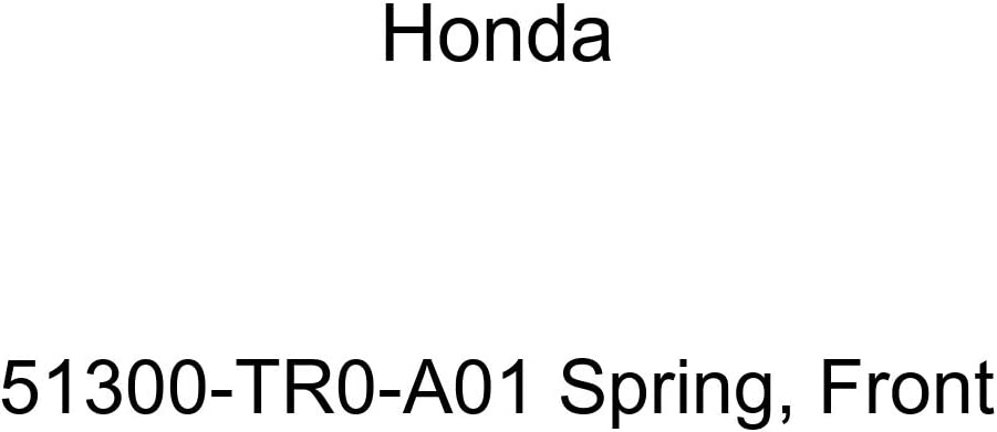 Genuine Honda 51300-TR0-A01 Max 51% OFF Spring Front New sales