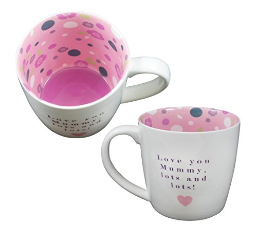 Two Up Two Down Mug ~ Céramique thé/café ~ Vice Versa Mug ~ Love You Maman, Nombreuses Nombreuses