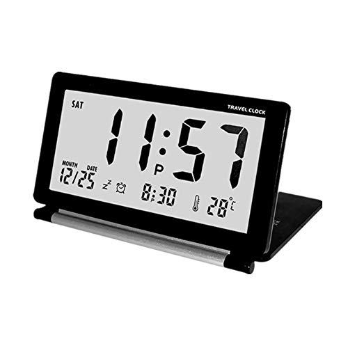 Rysmliuhan Shop Uhr mit projektion Digitale Uhr Digitalwecker am Bett LED Uhr Schlafzimmer Uhr Digitaluhren Projektionsuhr Kinderwecker Licht Wecker Black