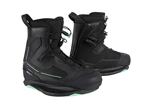Ronix One Intuition Wakeboard Boots - Carbitex/Sea Foam - 10
