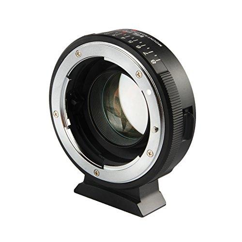 VILTROX NF-M43X Speed Booste 0.71x Adaptador Lente para Nikon F mount Lentes a Micro Four Thirds M43 Cámara Enfoque infinito manual