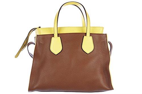 Gucci borsa donna a spalla shopping in pelle nuova ramble cellarius marrone