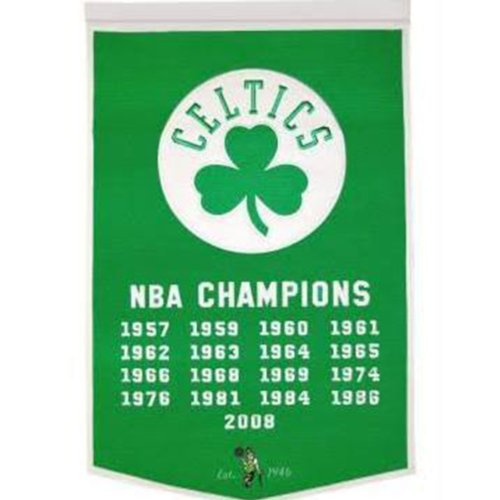 Winning Streak Sports NBA Boston Celtics NBA Dynasty Banner - Wall Decor for Sports Fans