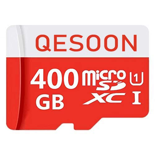 Price comparison product image Micro SD Card 400GB High Speed Class 10 Micro SD SDXC Card with Adapter (400GB)