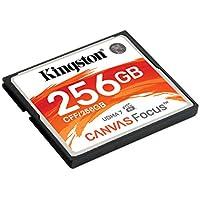 Kingston Canvas Focus 256GB CompactFlash Memory Card