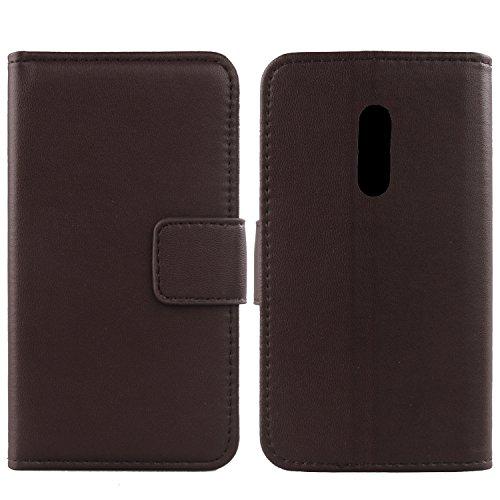 Gukas Design Echt Leder Tasche Für Doogee BL5000 5.5