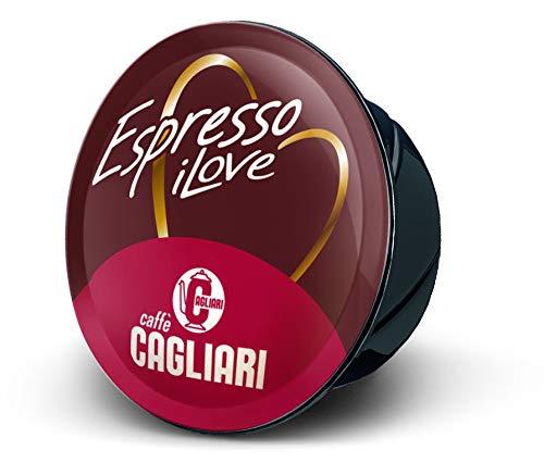 Caffè Cagliari - 100 Capsule compatibili Lavazza A Modo Mio - Miscela Crem Espresso