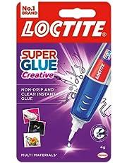 Loctite Super lijm perfecte pen, lijmpen voor nauwkeurige toepassing, superlijm gel droogt duidelijk voor onzichtbare reparaties, heldere lijm voor verticale oppervlakken, 3 g