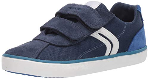Geox Jungen J Kilwi Boy I Sneaker, Blau (Navy/Royal C4226), 33 EU
