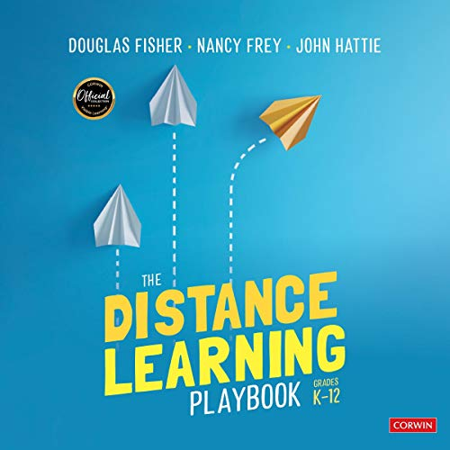 The Distance Learning Playbook, Grades K-12 cover art