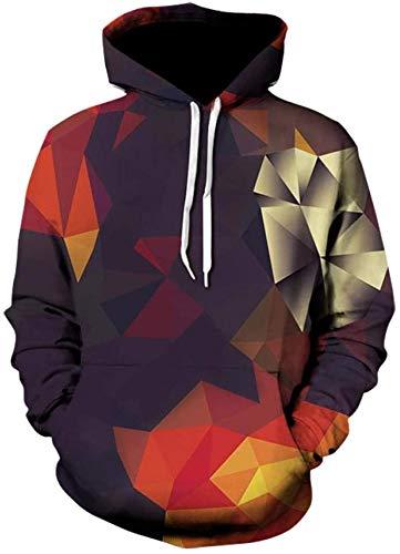 HAOKE Sudaderas con capucha para mujer, abrigo suelto, terciopelo de cordero y terciopelo de manga larga, camiseta de fondo negro 3XL (color: color, talla: XL)
