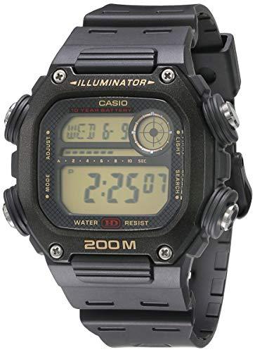 Casio Reloj Digital para Mujeres de Cuarzo con Correa en Resina DW-291H-9AVCF