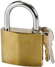 Cogex 80017 Cadenas acier 30 millimètres 30 mm stalen hangslot, Golden