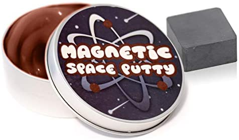 Kobra Magnetic Space Putty Black Magnetic Putty Slime with 1 in Manipulator Magnet Magnetic product image