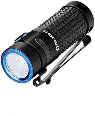 OLIGHT S1R Baton II LED Linterna Recargable 1000 Lúmenes 145 Metros Lámpara de Bolsillo Portátil con Batería RCR123A y USB Cable de Carga, Conveniente para Reparación, Emergencia, Ciclismo, Camping