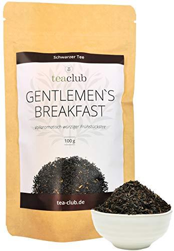 Schwarzer Tee Lose aus Assam und Sumatra 100g, English Breakfast Ostfriesen Tee Mischung, TeaClub