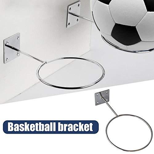 GOUDEDE Basketbal Hoop Basketbal aan de muur gemonteerde sportbal houder voetbal volleybal voetbal display plank opslag staal