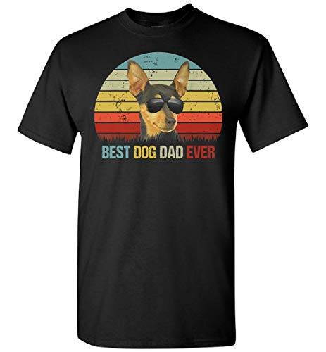 Mens Best Dog Dad Ever Chihuahua Día del Padre para Papá Camiseta, Sudadera, Personalizado