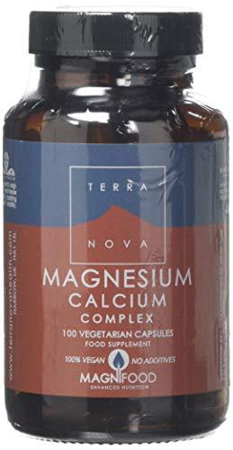 Terra Nova Magnesium Calcium 2:1 Complex (100 Vegetarian Capsules)