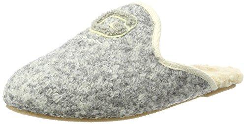 GANT Footwear Damen Lazy Pantoffeln, Grau (Grey Melange), 36 EU