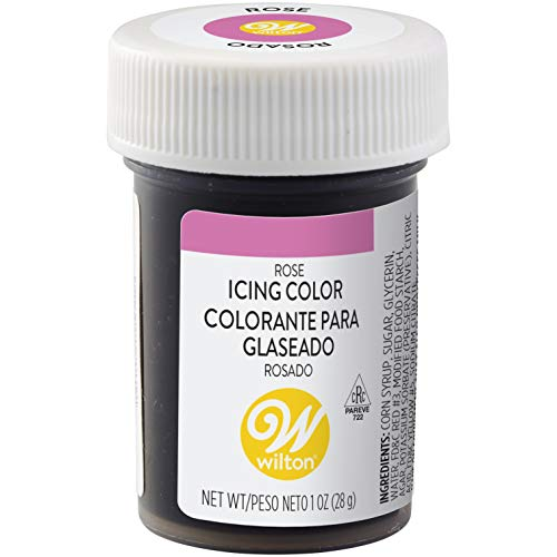 Wilton Rose Icing Color, 1 oz. - Pink Food Coloring