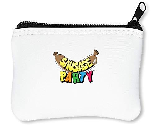 Sausage Party Funny Reißverschluss-Geldbörse Brieftasche Geldbörse