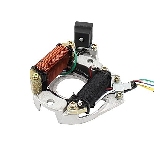 Motor del imán de la Bobina del estator del generador de Motocicletas for Zs Lifan Loncin 7 0cc-125cc Motores en Bicicleta Partes de Motocicleta
