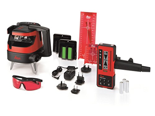 Leica Lino ML180 Laser Level with XCR Catch Remote Control...