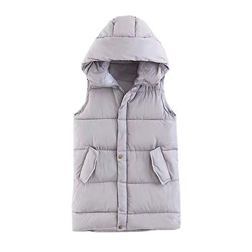 Zarupeng dames capuchon donsvest licht outdoor dun vest lange hoodie jas Pocket Coat Mode gebreid vest