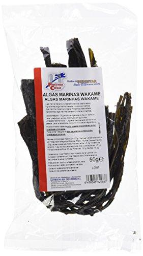 Alga marina Wakame - La Finestra Sul Cielo - 50g - Alimentación...
