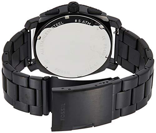 Fossil Homme Chronographe Quartz Montre avec Bracelet en Acier Inoxydable FS4552