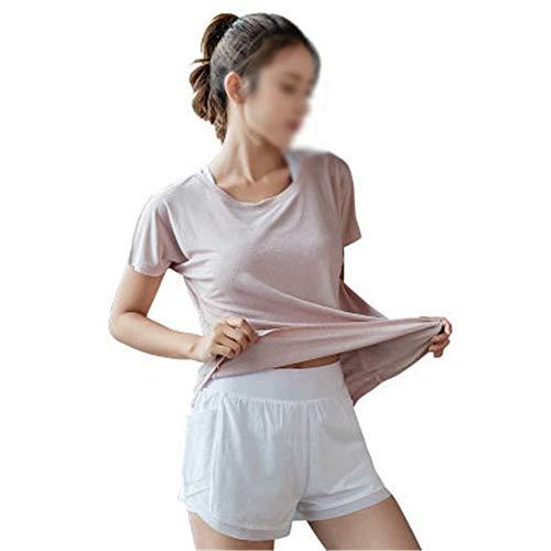 Trajes deportivos para mujer, 3 piezas, ropa de fitness delgada de manga larga, cuello de pie, ropa de secado rápido (color: A, talla: L)