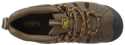 KEEN 1002570 Men's Voyageur Hiking Shoes - Black - 10.5 - M