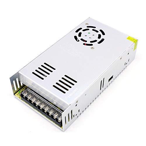 AC 100-240V a DC 48V 10.4A 500W Transformador de voltaje Conmutación regulada Fuentes de alimentación Adaptador Convertidor para tiras Luz Cámara Proyecto de computadora Radio