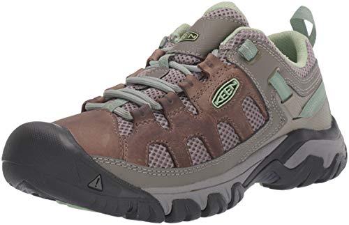 Keen Targhee Vent W Fumo/Quiet Green Womens Hiking Shoe Size 11M